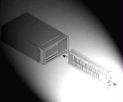 HP/AGILENT 81553SM LASER SOURCE FOR 8153A, 1550 NM, LD, SINGLE MODE